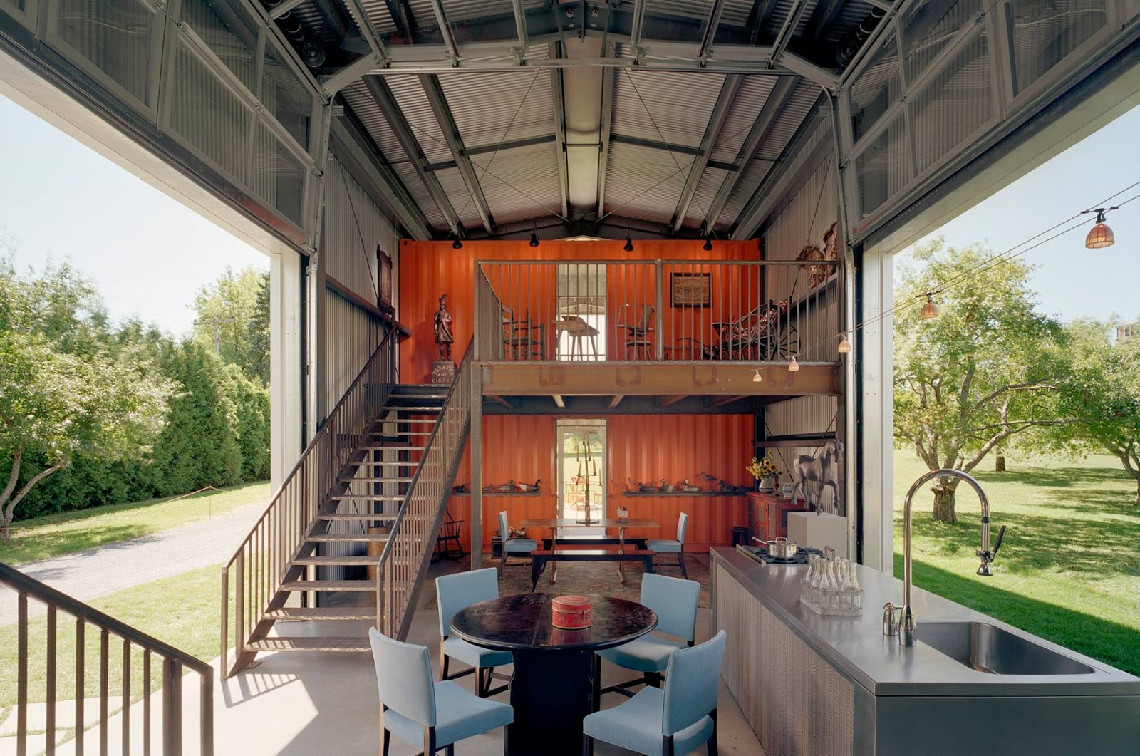 Best Kitchen Gallery: Shipping Container Homes Beautiful Container Home By Adam Kalkin of Beautiful Container Homes on rachelxblog.com