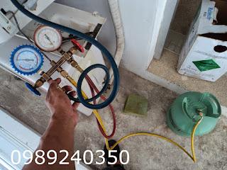 Nạp gas điều hòa R32 tại nhà Hà Nội