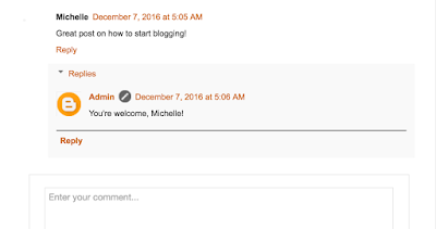 blogger comments