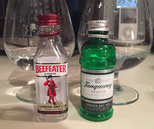 Distill Wars Episode V: Beefeater vs. Tanqueray