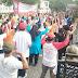 Hari Tenang Jelang Pemilu 2019 Babinsa Senam Bersama Warga Binaannya.