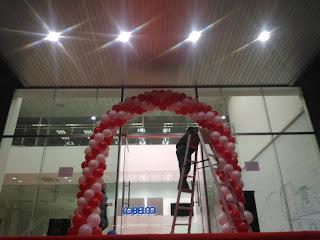 Balon Gate Dekorasi / Gate Balon