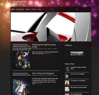 Free Inspiration (Premium) Blogger Template