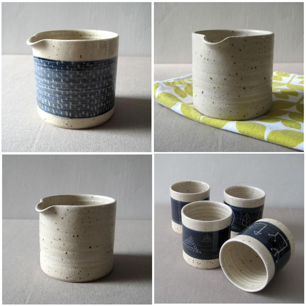 Speckled Stoneware Pot