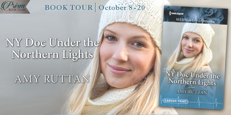 We're launching the Book Tour for NY DOC UNDER THE NORTHERN LIGHTS by Amy Ruttan!