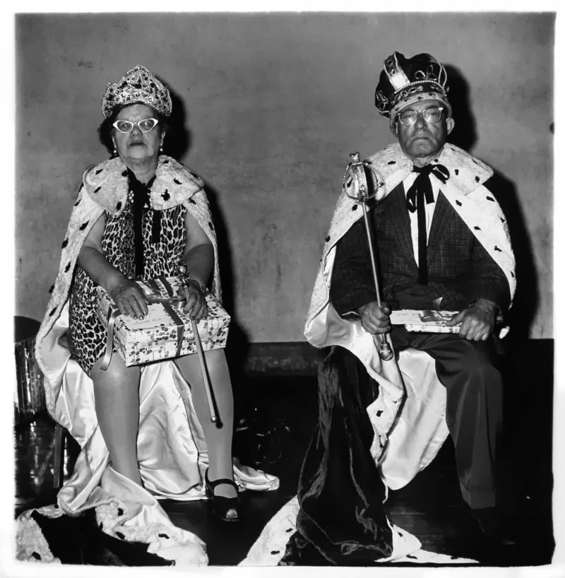 Diane Arbus, King and Queen of a Senior Citizen Dance, NYC 1970