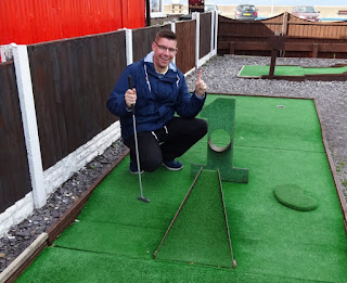 Surfside Crazy Golf at Pensarn Beach in Abergele