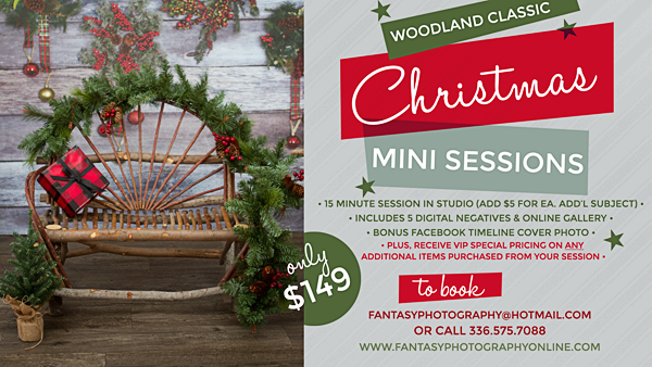 christmas mini sessions winston salem | greensboro | photographers