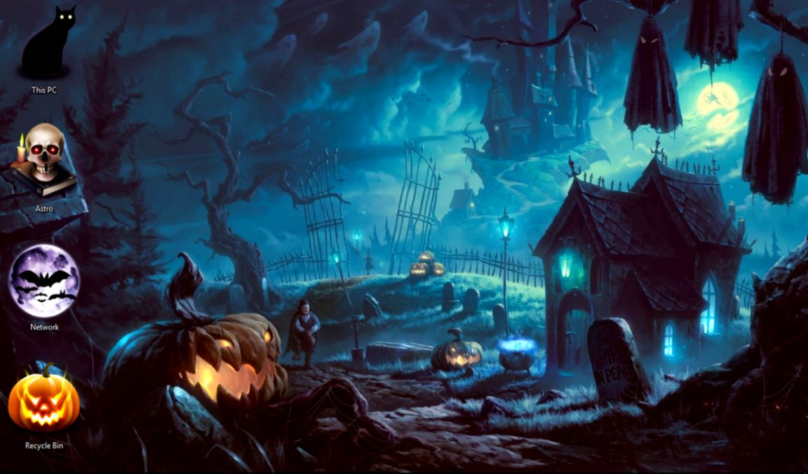 Halloween Wallpaper Themes Wallpapers Space