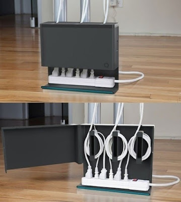 Keep your cords organized with this handy hub