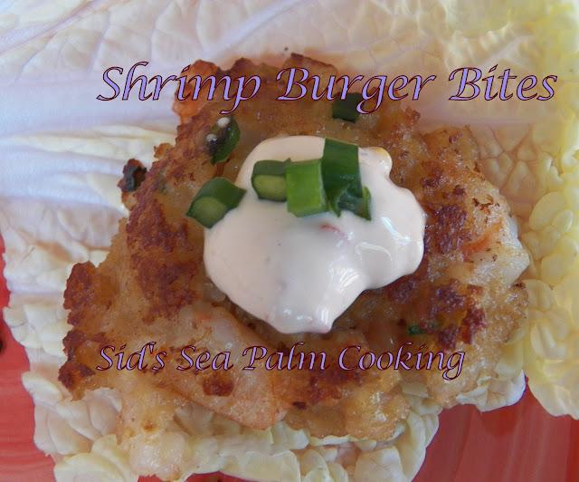 Shrimp Burger Bites