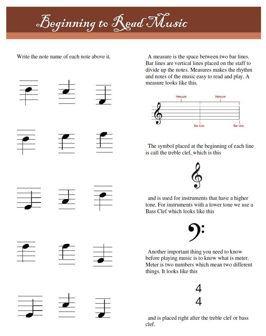 Workbooks violin note reading worksheets : Musical Strings: December 2012