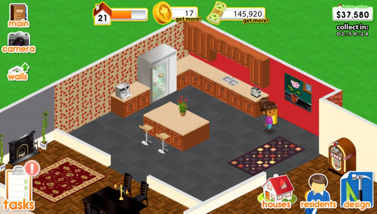 Designing Homes Games Sizehd