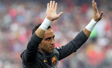 KỶ LỤC: Claudio Bravo giữ sạch lưới 55% số trận