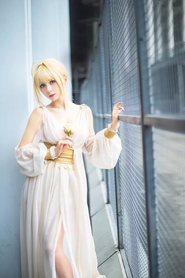 AowVN.org minz%2B%25281%2529 - [ Cosplay ] Nero - Saber anime Fate by Xia Mei Jiang tuyệt đẹp | AowVN Wallpapers