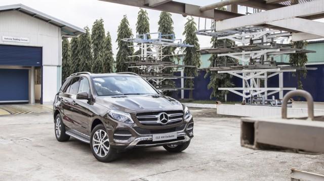 Mercedes Benz GLE Class 03