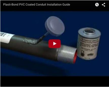Plastibond Pvc Coated Rigid Conduit Plasti Bond Pvc