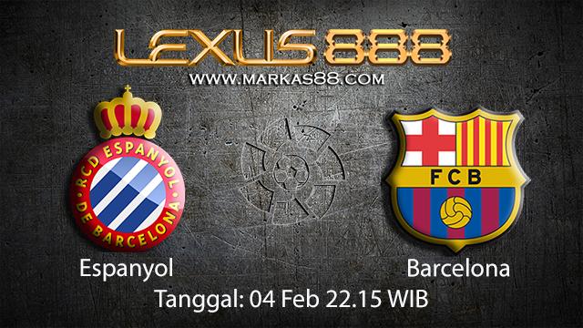 PREDIKSIBOLA - PREDIKSI TARUHAN ESPANYOL VS BARCELONA 4 FEBRUARY 2018 (SPAIN LA LIGA)