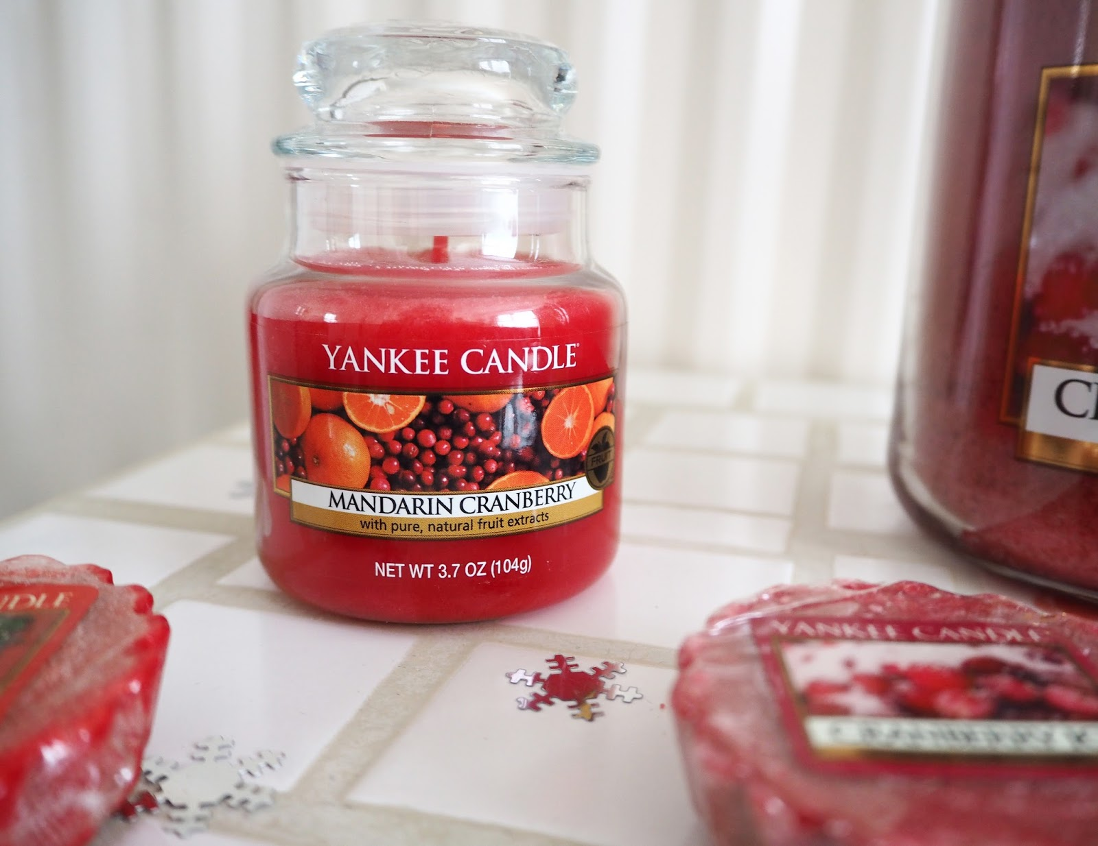 Christmas Yankee Candles | Katie Kirk Loves