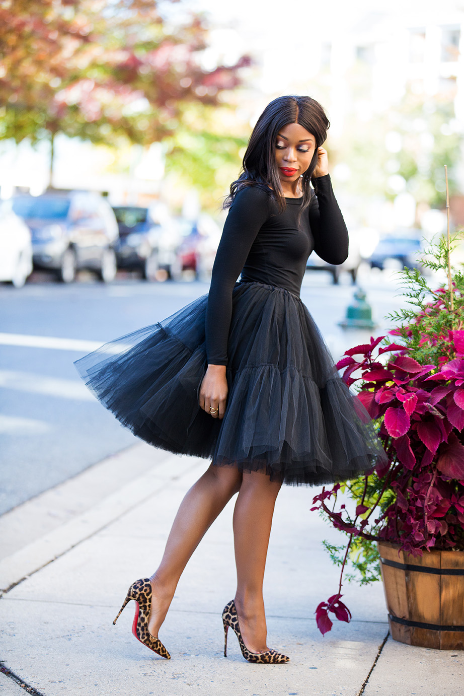 Tulle skirt, www.jadore-fashion.com