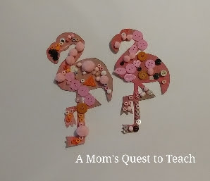 Bead Flamingo Craft