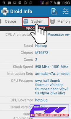 cara melihat spek hp android dengan aplikasi