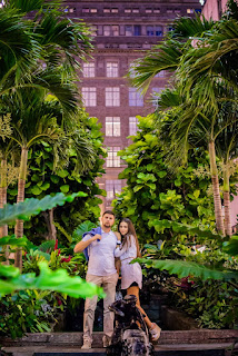unique pre-wedding photoshoot in NY
