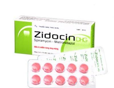 Thuốc kháng sinh răng miệng Zidocin