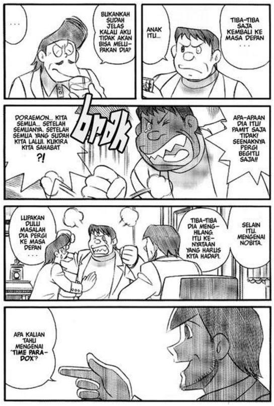 Pengakhiran Kartun Doraemon