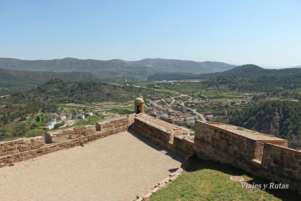 Castillo de Cardona, mirador