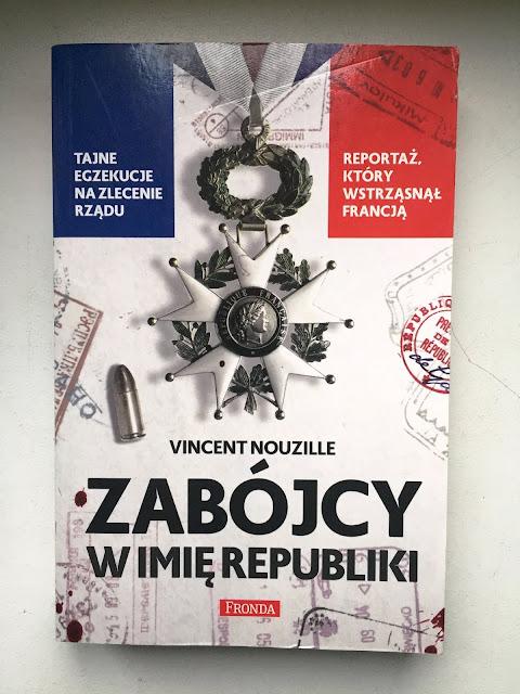 """Recenzje #98 - """"Zabójcy w imię republiki"""" - okładka książki pt. """"Zabójcy w imię republiki"""" - Francuski przy kawie"""