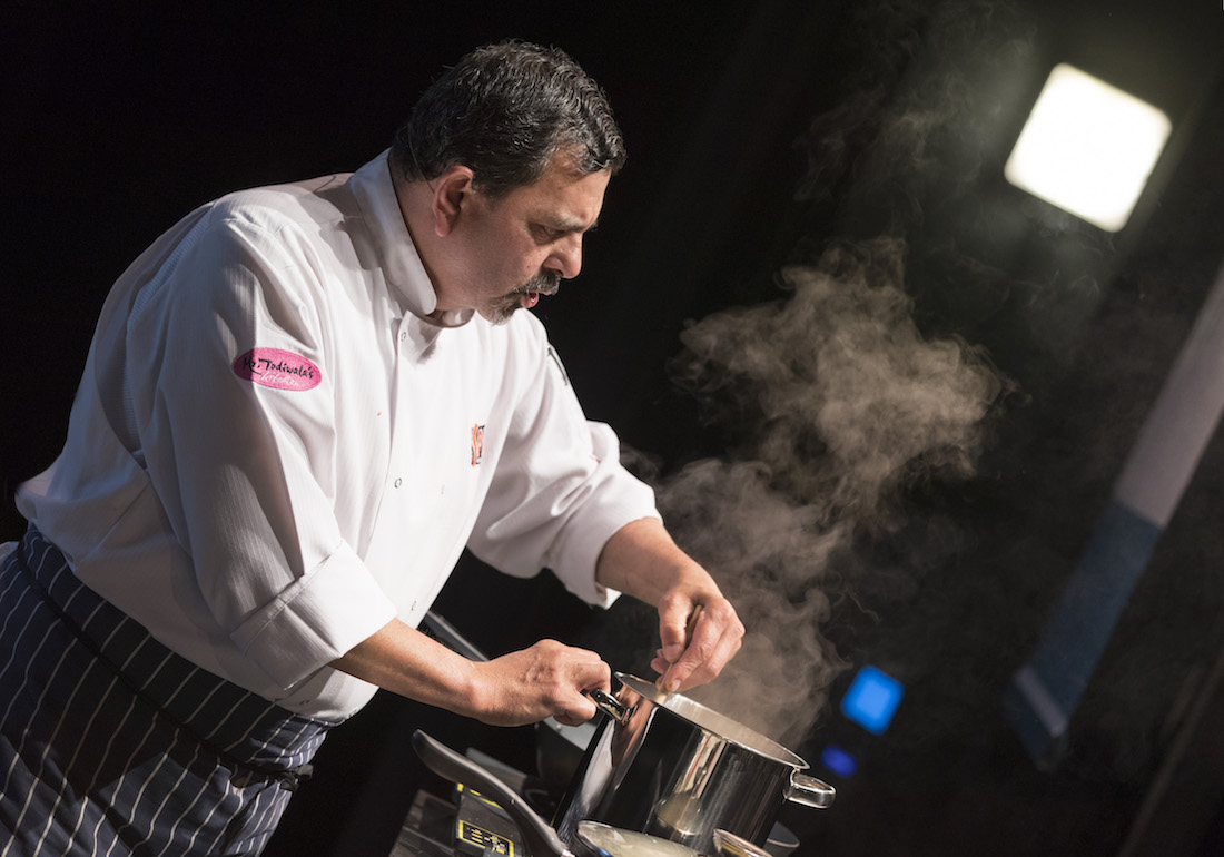 Cooking demonstrations and workshops at Abergavenny Food Festival