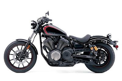 Yamaha Star XV950 Bolt front & rear alloy wheel image