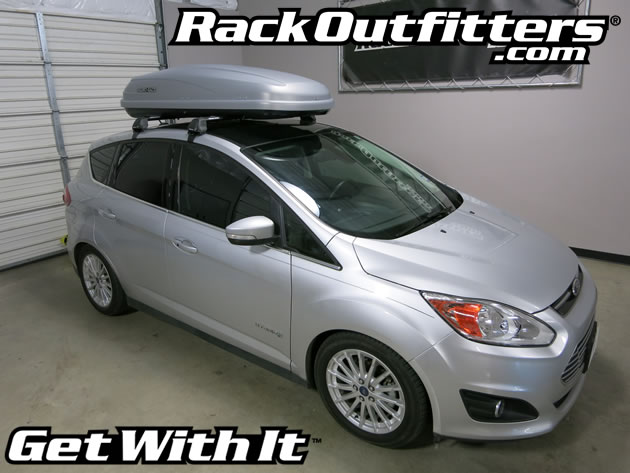 Ford C-Max RS Vortex Aero Roof Rack with Rhino-Rack Master ...
