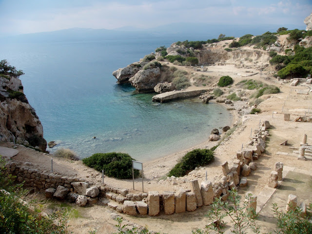 Ancient archaeological site Heraion of Perahora Loutraki Greece Photo by Greeker than the Greeks