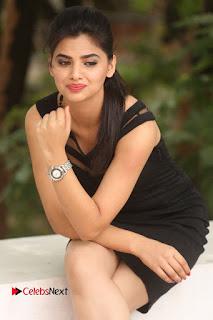Actress Kamna Ranwat  Pictures in Black Short Dress at Selfie Raja Interview  0234