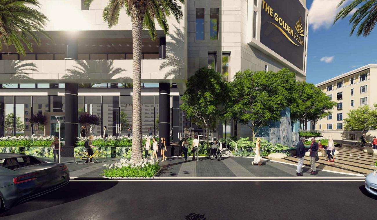Căn hộ The Golden Palm chính là nơi nghỉ dưỡng lý tưởng của bạn