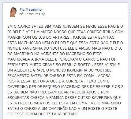 UMA MC COM MAGRINHO NOITE MUSICA MAGRINHO BAIXAR