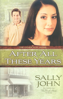'After All These Years' by Sally John. A review of the contemporary novel from Harvest House Publishers. Text © Rissi JC