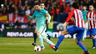 برشلونة يفوز على اتلتيكو مدريد بهدفين دون رد في الجولة الـ31 من الدوري الاسباني