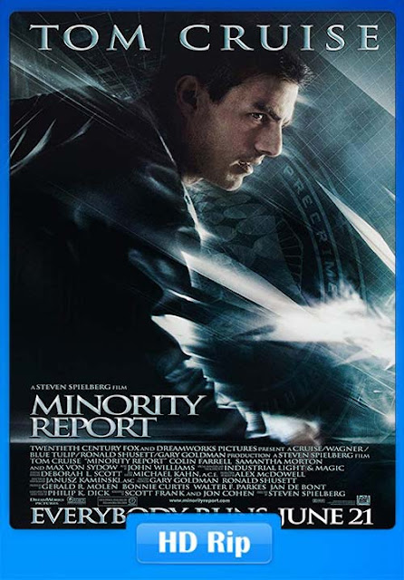 Minority Report 2002 Hindi Dubbed Movie 720p Free Download