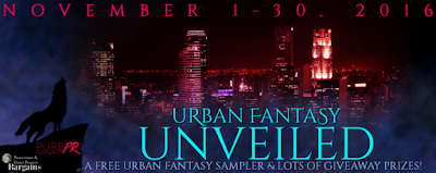 Urban Fantasy Unveiled Giveaway free sampler win kindle amazon gift card