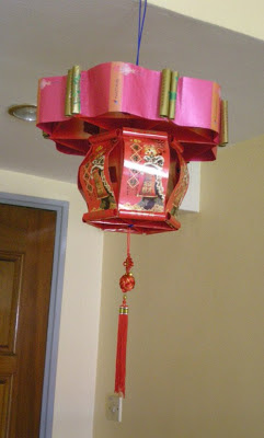 Lampion Kertas Angpau Sederhana Mudah Dibuat