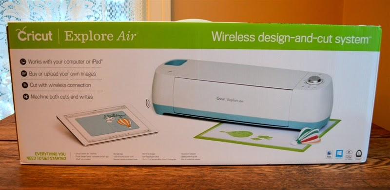 Capadia Designs: Cricut Explore Air, Design Space 2 and new