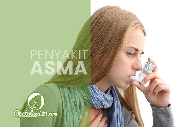 Gejala Penyakit Asma dan Cara Mengobatinya