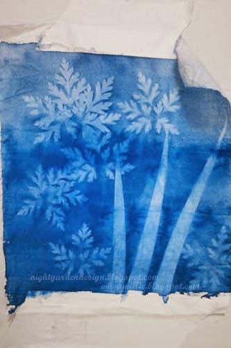 Night Garden Blog Sun Printing On Fabric Seriously The Best