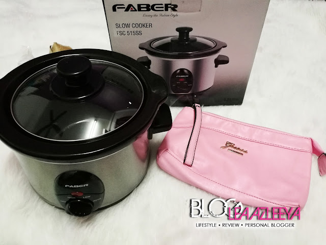 Faber Slow Cooker dan Nasty Girl Guess Clutch Dari Lazada MY dari Lazada My