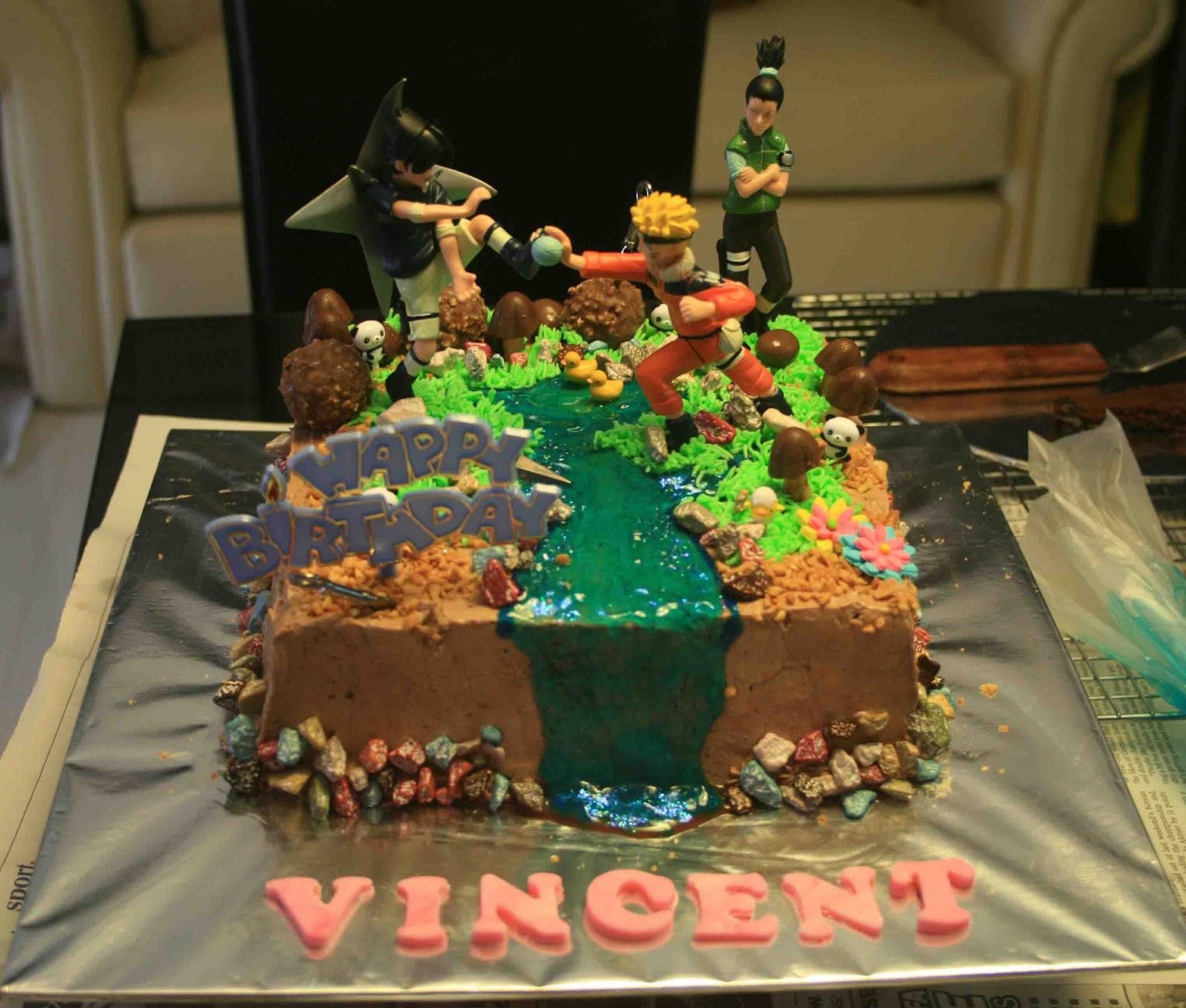Cally S Cakes Cake Birthday Naruto