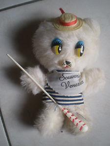Orsetto gondoliere, un souvenir vintage di Venezia