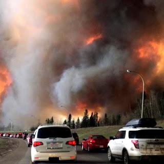 Les incendies de Fort McMurray et la production de sables bitumineux : une répétition des futures crises énergétiques ?